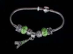 Bratara talismane cristale verzi