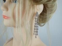 Cercei eleganti lungi cristale