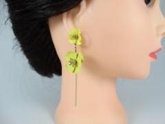 Cercei flori galbene