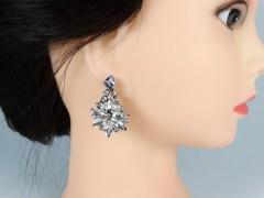 Cercei ocazie cristale model floral