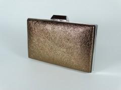 Geanta ocazie tip caseta - bronz